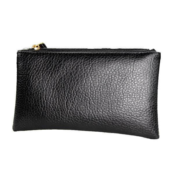 2021 Solid Simple Men Women Wallets PU Leather Bag Zipper Clutch Coin Purse Phone Wristlet Portable Handbag for Party Shopping