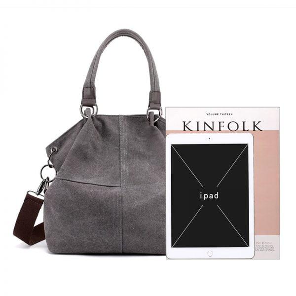 New Fashion Canvas Women Bags Shopping Vintage Women Handbags Large Capacity Women's Shoulder Bag High Quality Casual Tote Bag
