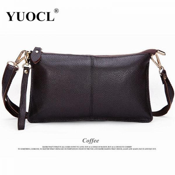 2021 Women Wallets Genuine Leather crossbody bag Female Zipper Clutch Coin Purse Ladies portable handbag for parties