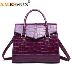 XMESSUN Women Crocodile Pattern Handbag lady Shoulder Messenger Bag 2020 Fashion Designer High Quality Crossbody Shipping H138