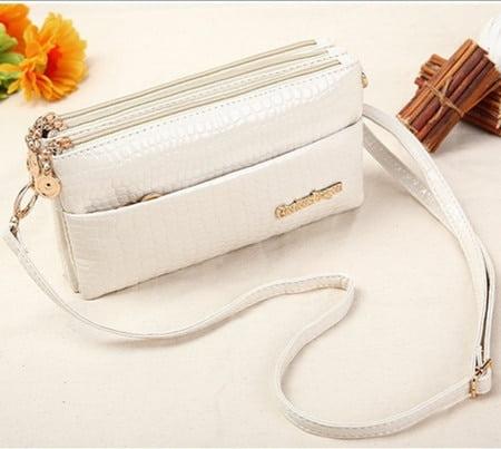 Bolsas Femininas Small Shoulder Bag Crocodile Pattern Bag Women Messenger Bags for Women Handbag New Black DJ20